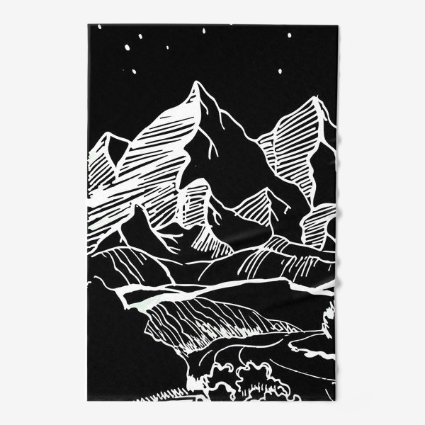 Полотенце «Белые горы»