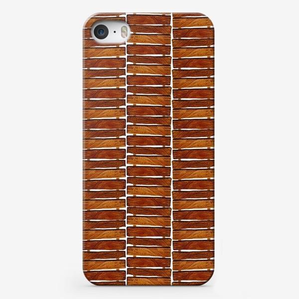 Чехол iPhone «Паттерн дощечки»