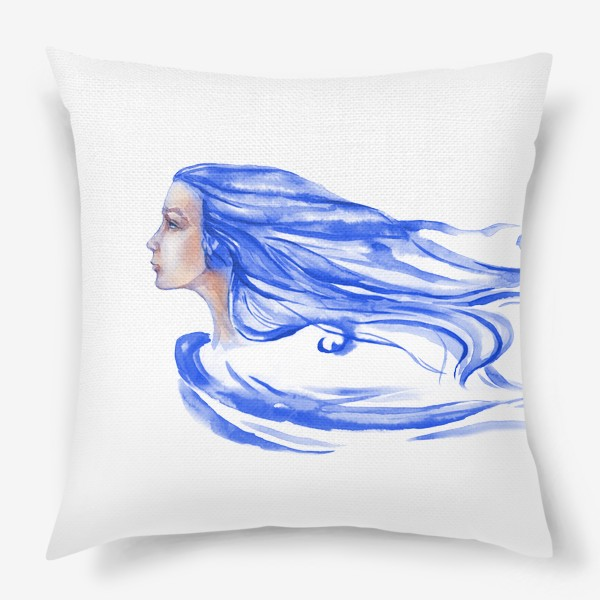 Подушка «Девушка с Севера»