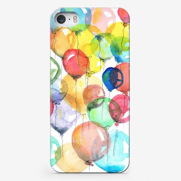 Чехол iPhone «шарики»