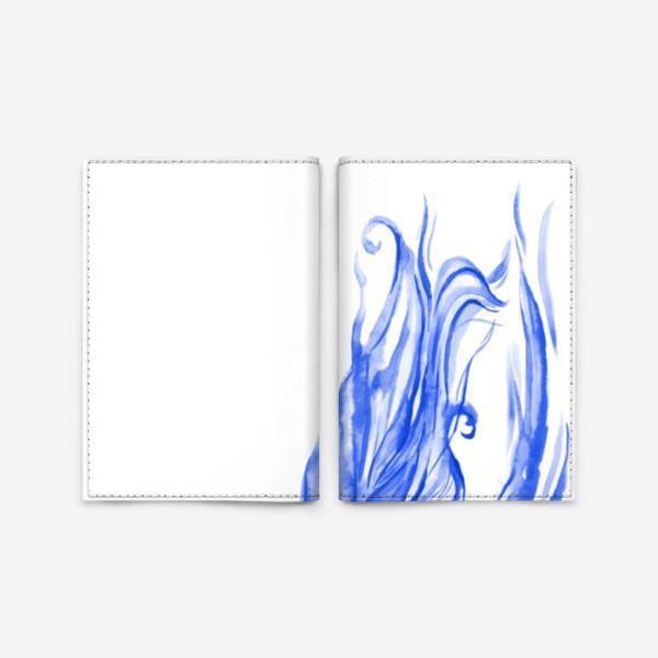 Обложка для паспорта «Девушка с Севера»