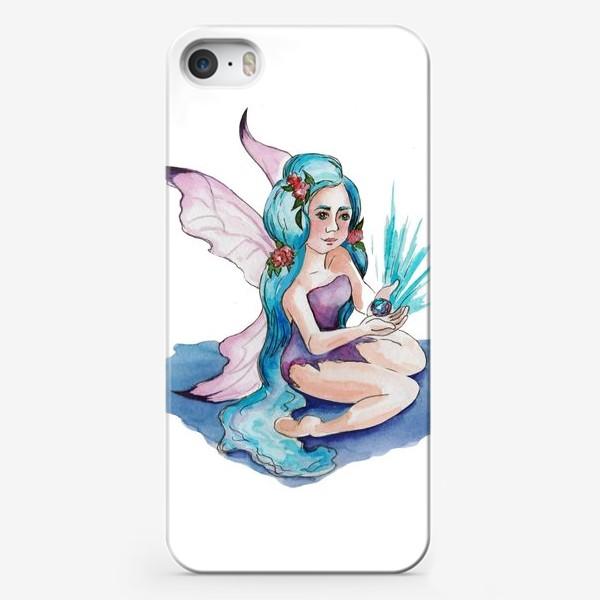 Чехол iPhone «Феечка воды»