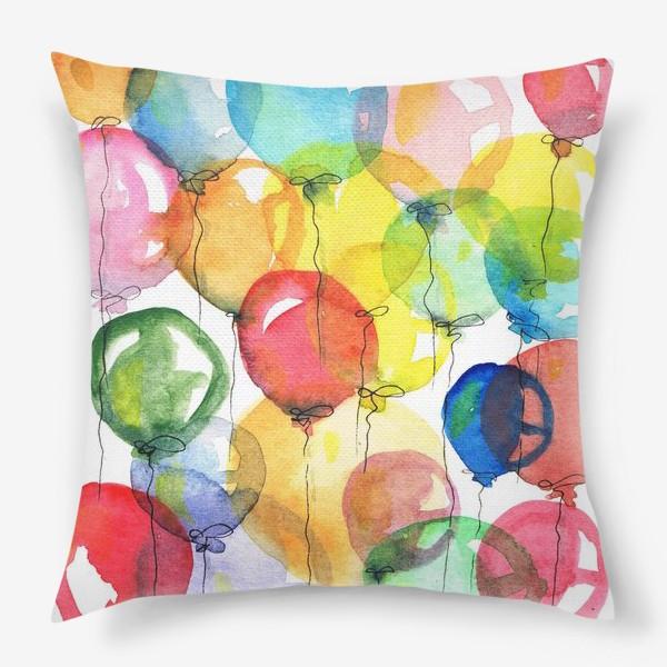 Подушка «шарики»