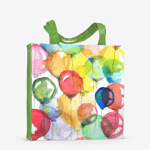 Сумка-шоппер «шарики»