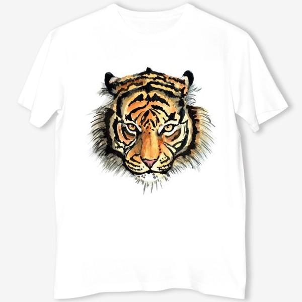 Футболка «голова тигра»