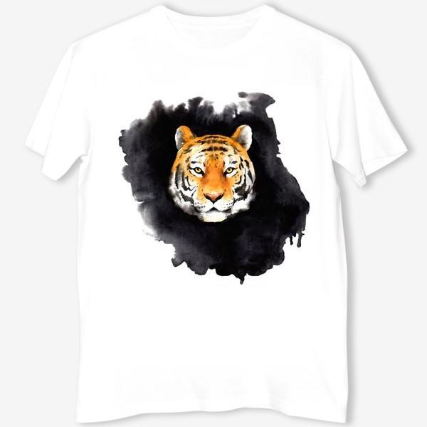 Футболка «Tiger on black»