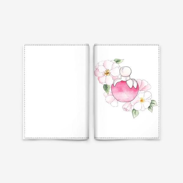 Обложка для паспорта «Яблоневый цвет»
