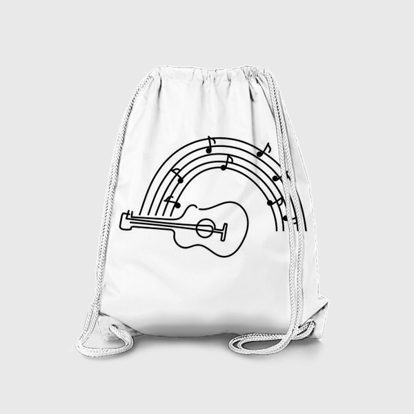 Рюкзак «Музыка. Гитара.»
