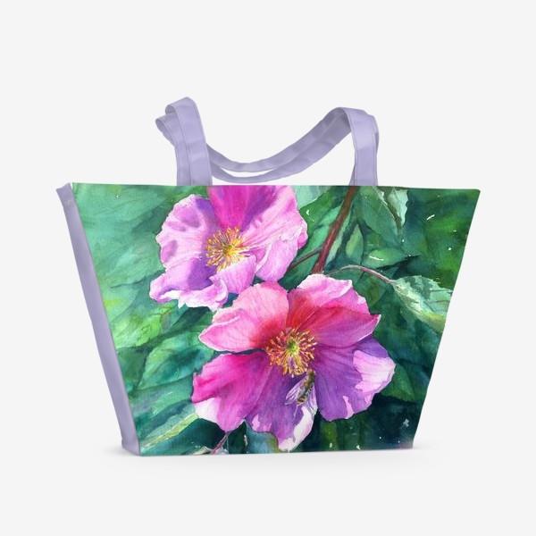 Пляжная сумка «Паучок»