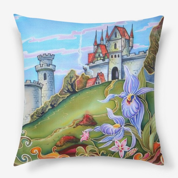 Подушка «Замки »