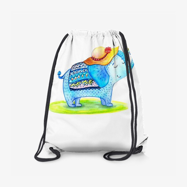 Рюкзак «Слоник в шляпе»