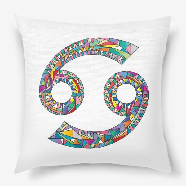 Подушка «Знак зодиака РАК»