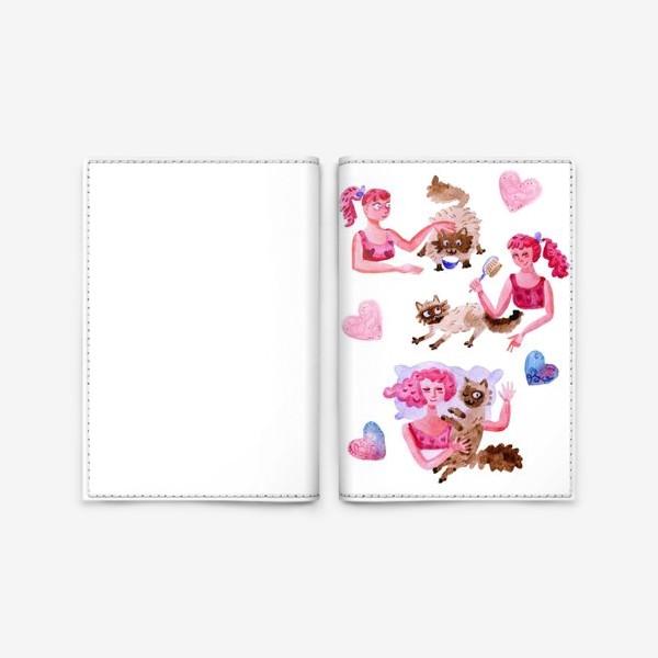 Обложка для паспорта «Мой котик»