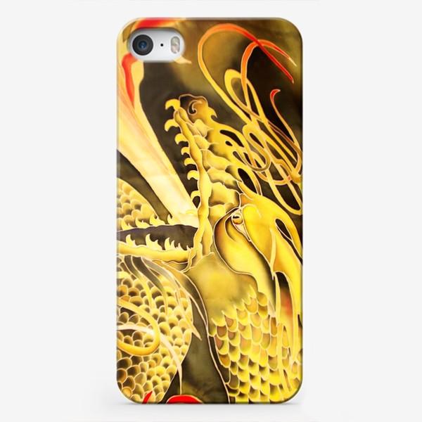 Чехол iPhone «Зеленый дракон »