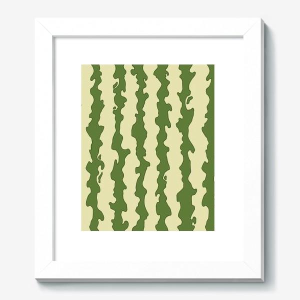 Картина «Полоски арбуза паттерн»
