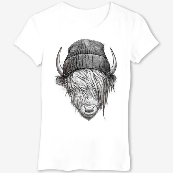 Футболка «Шотландский бык»