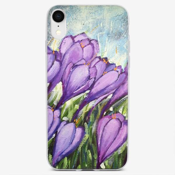 Чехол iPhone «Крокусы»