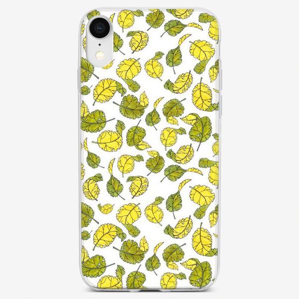 Чехол iPhone «Весенние листья»