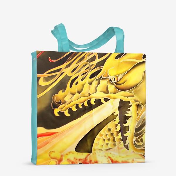 Сумка-шоппер «Зеленый дракон »
