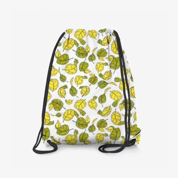 Рюкзак «Весенние листья»