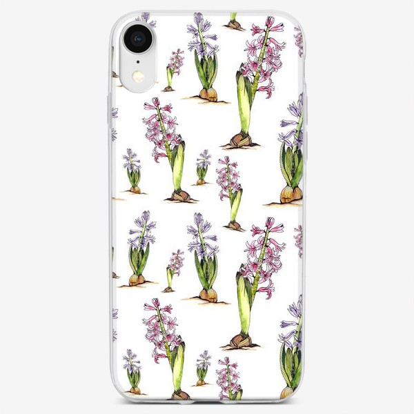 Чехол iPhone «Гиацинты»