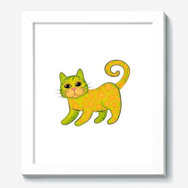 Картина «Апельсиновый кот»