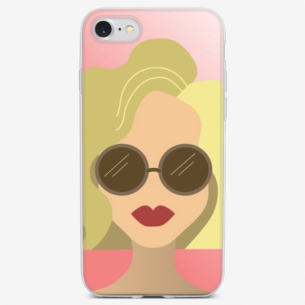 Чехол iPhone «Summer girl »