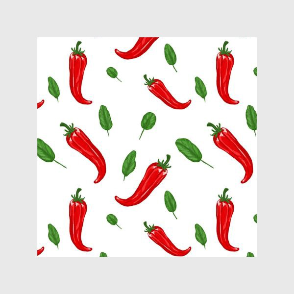 Шторы «Чили перцы»