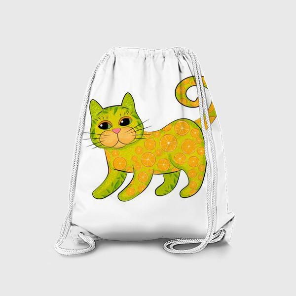 Рюкзак «Апельсиновый кот»