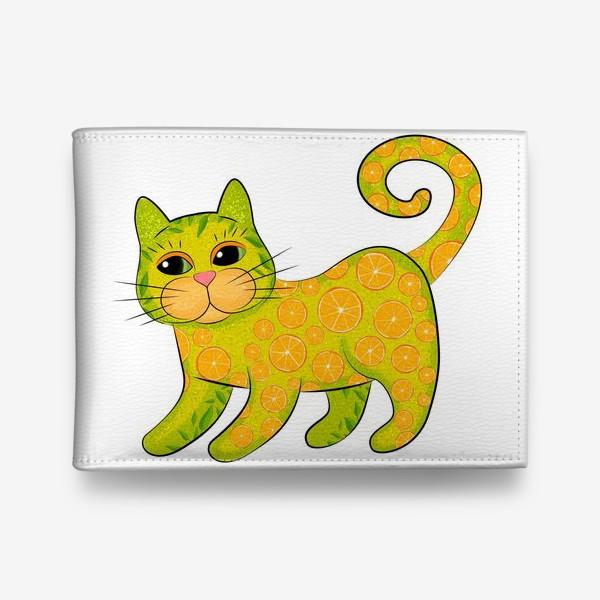 Кошелек «Апельсиновый кот»