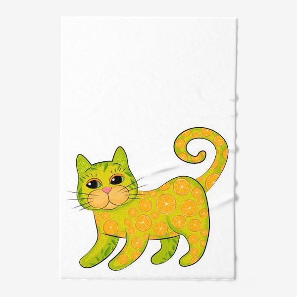 Полотенце «Апельсиновый кот»