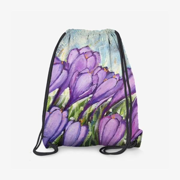 Рюкзак «Крокусы»