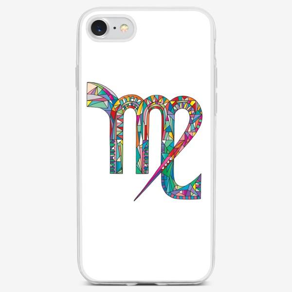 Чехол iPhone «Знак зодиака ДЕВА»