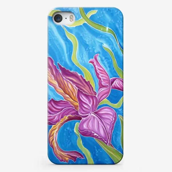 Чехол iPhone «Ирис »