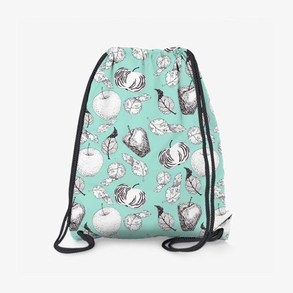 Рюкзак «Яблоки и листья»