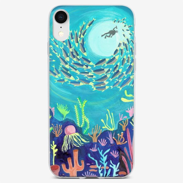 Чехол iPhone «Морское дно»