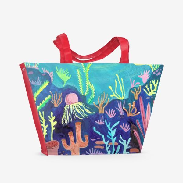 Пляжная сумка «Морское дно»