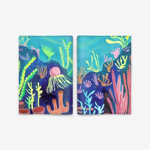 Обложка для паспорта «Морское дно»
