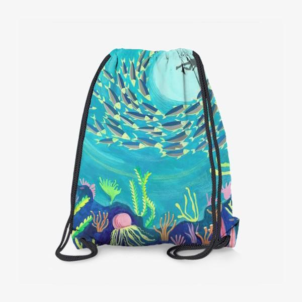 Рюкзак «Морское дно»