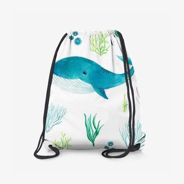 Рюкзак «Милый кит»