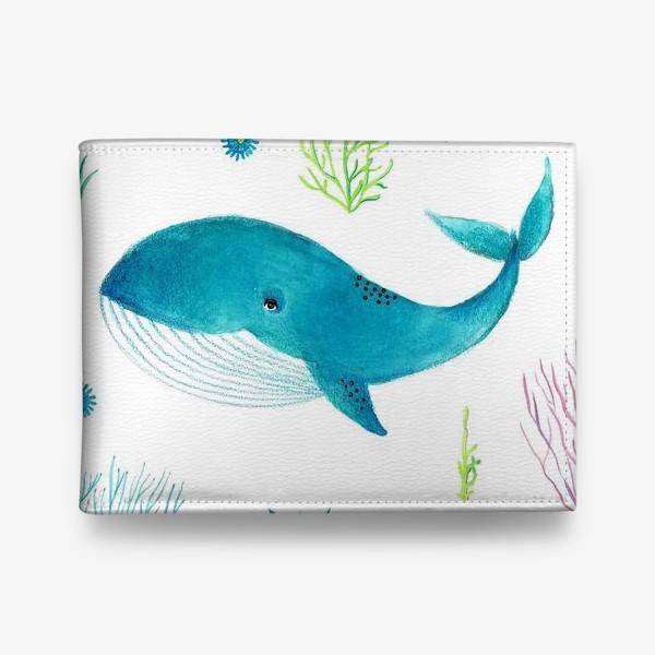 Кошелек «Милый кит»