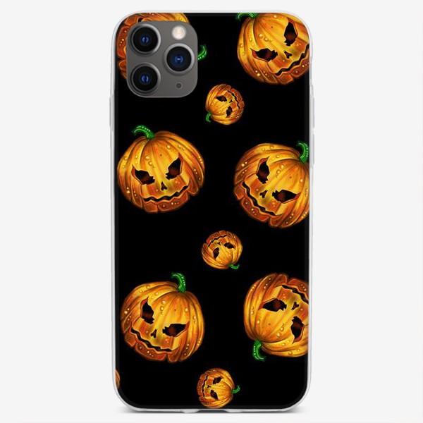 Чехол iPhone «Хэллоуинский паттерн»