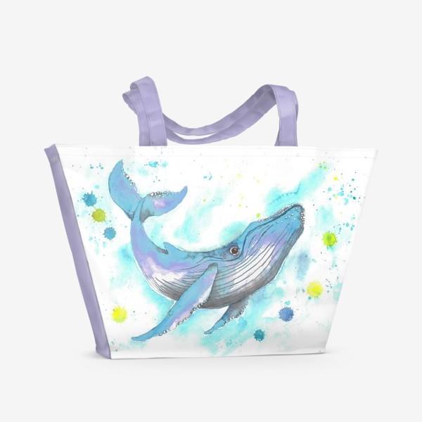 Пляжная сумка «Кит »