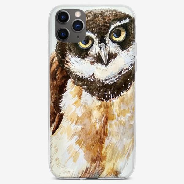 Чехол iPhone «Совёнок»