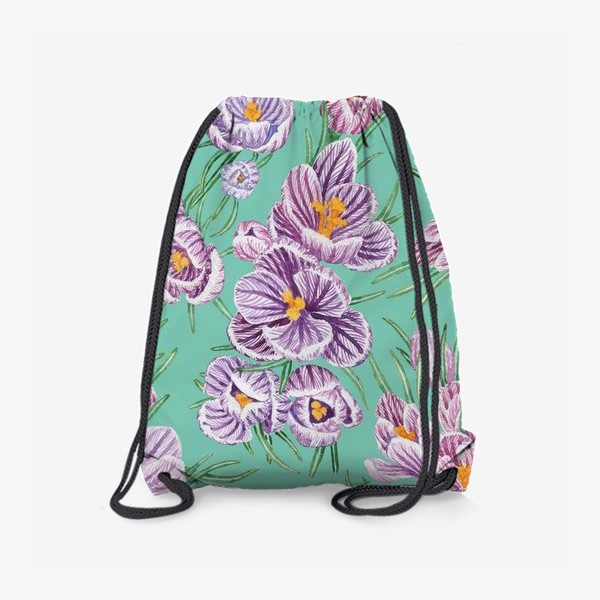 Рюкзак «Крокусы на тиффани»