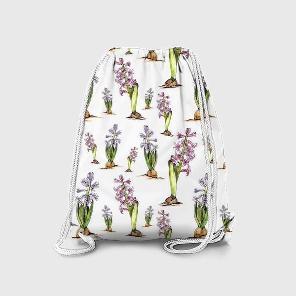 Рюкзак «Гиацинты»