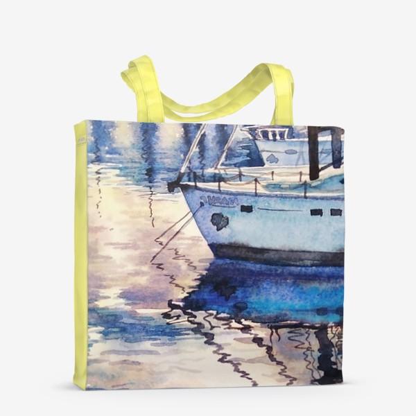 Сумка-шоппер «Яхта у причала»