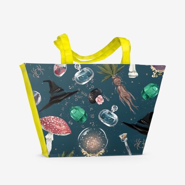 Пляжная сумка «Ведьма паттерн»