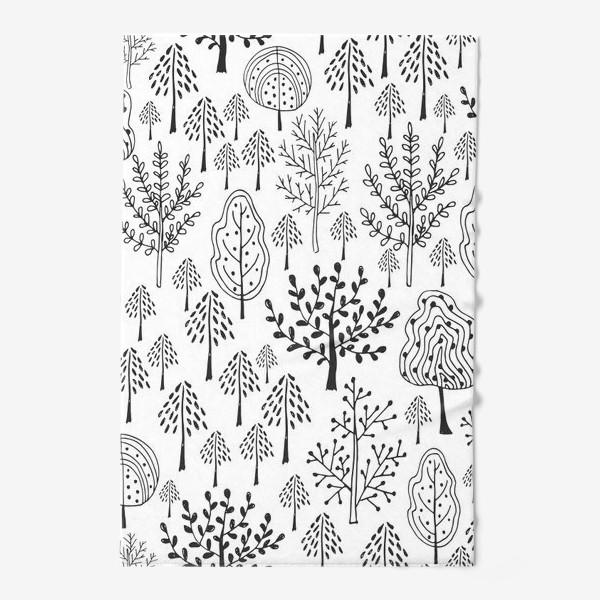 Полотенце «Деревья сказочного леса»