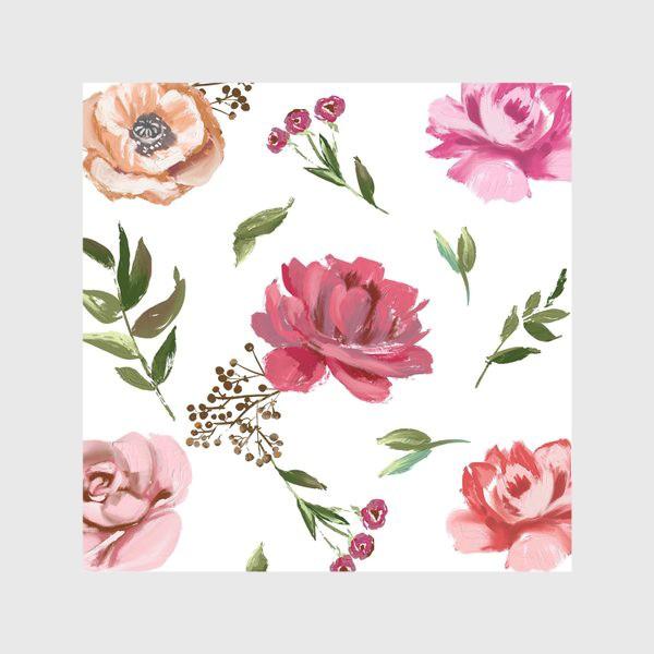 Скатерть «Цветочный паттерн»